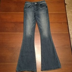 American Eagle Outfitters Hi- Rise size 0